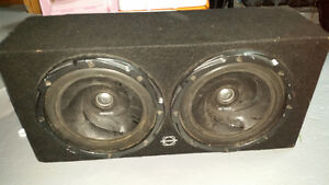 Selling Kenwood Subwooffers and Kenwood Amp in Box