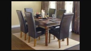 Jysk India Dining Table (chairs not included)