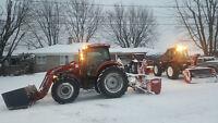 Chauffeur de tracteur agricole