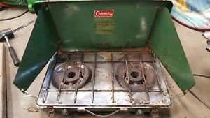 3 Portable Campstoves (one naphtha fuel, two propane) Edmonton Edmonton Area image 4