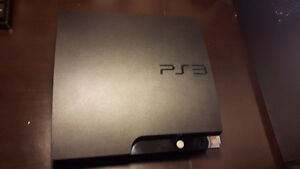 PS3 Slim + Accessories & Games!