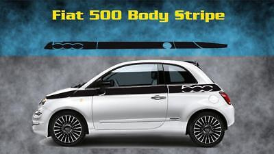 "Dual 4/"" Fender Hash Stripes Fits Abarth 500c Any Fiat Fiat Abarth 500 Pair"