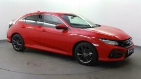 image for 2020 Honda Civic 1.0 VTEC Turbo SR CVT (s/s) 5dr Hatchback Petrol Automatic