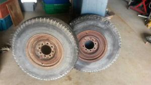 "16"" 8 Hole Trailer Rims"