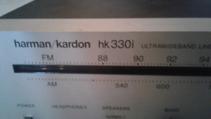 Harman Kardon 3301 tuner receiver