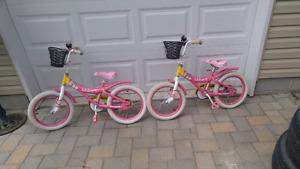 2 Girls bikes $20ea or two 4 $30