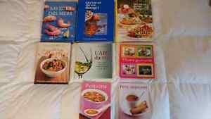 Livres cuisine varié