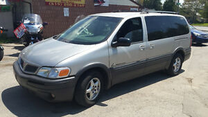 05 Pontiac Montana extended low km's,  safety included