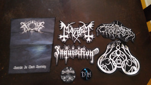 Black Metal & Rock Jacket Patches