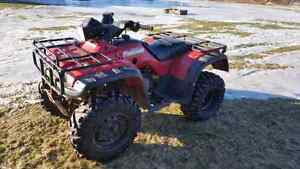 1997 Honda Foreman with papers