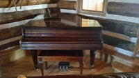 PRICE REDUCED - antique baby grand piano