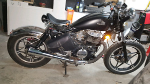 1983 Hond CB450 nighthawk bobber project nego