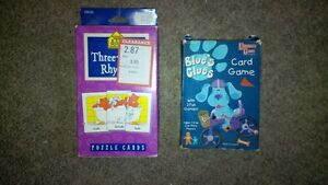Card Games (age 3+)