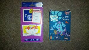 Card Games (age 3+) Cambridge Kitchener Area image 1