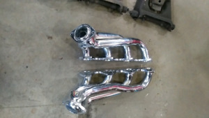 NEW Aftermarket Chrome shorty headers