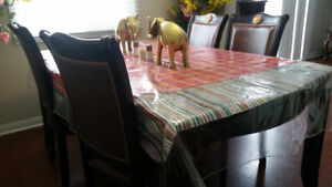 Dinning table set with 4 chairs. For free and stove for $250