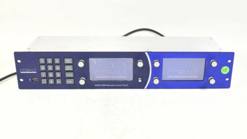 Cobalt Digital OGCP-9000 Remote Control Panel for OpenGear Frame OGCP9000