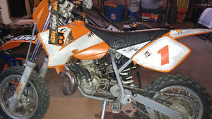 (Price reduced) 2005 ktm 50sx pro junior
