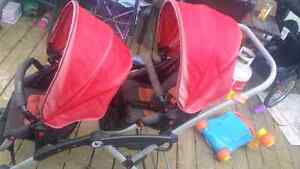 Priced for quick sale double stroller