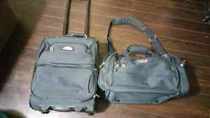Carry On Suitcase & Tote