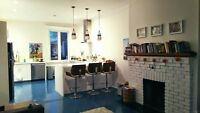 Beautiful bright home available January 1 in NDG