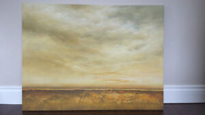 """Painting – Skyscape / Acrylic on Canvas – Approx. 40"""" x 30"""""""
