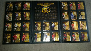 Large awesome nhl pinnacle coin and card set only 25$...........