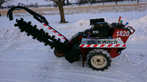 2005 ditch witch 1820 HE