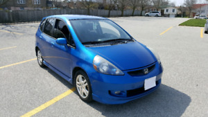 2008 Honda Fit Sports fully loaded