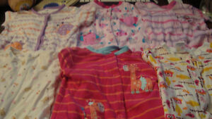 BABY CLOTHES 6 months sleepers/dress