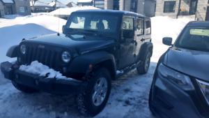 Transfert location Jeep wrangler unlimited
