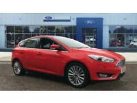 2017 Ford Focus 1.0 EcoBoost 125 Titanium X 5dr Auto Petrol Hatchback Hatchback