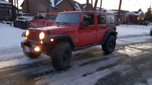 REDUCED -2011 JEEP WRANGLER UNLIMITED