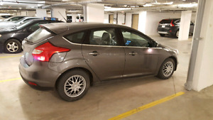 Ford Focus 2012 with Low KM fully loaded Taitanum