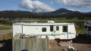 Trailer on Permanent  site in Crowsnest Pass