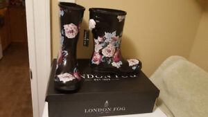 Women's London Fog Rain Boots - Size 7 - New With Tags