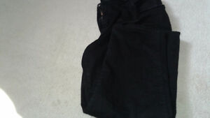 Ladies black jeans size xl (18)