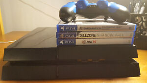 Ps4 Great condition 1 controller 3 games $340
