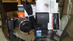 • E-mount Mirrorless Camera • Sony NEX-5N with 18-55 OSS Lens!