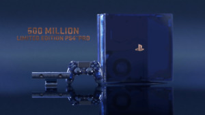 500 Million Limited Edition PS4 Pro *****with bundle option*****