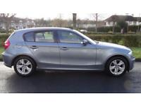 BMW 1 SERIES 118I M SPORT - FULL SERVICE HISTORY 2009 Manual 53217 Petrol Silve