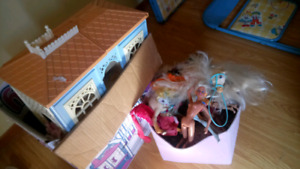 Free fisher price toys and barbie