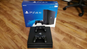 PS4 Pro 1TB with 2 Controllers