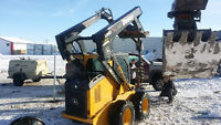 bobcat and excavator services trade for toys