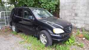 Mercedes ML320 for parts