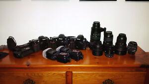 Nikon and Photography Equipment.