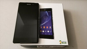Like new in box Sony Xperia Z2 with free cases, Screen protector