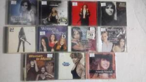 Assorted CDs for $3.00 Each or Buy 5 Get  1  Free