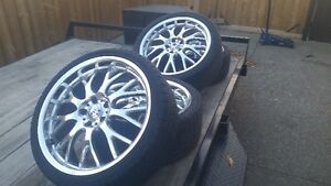 19 Inch Konig Rims with Tires