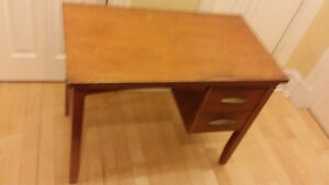 Antique desk and free chair